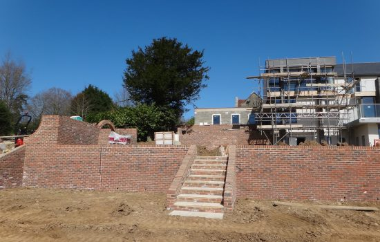 landscape contractors new build properties, garden design for residential developments