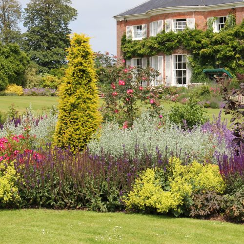 garden design in sussex, countryside manor, garden maintenance