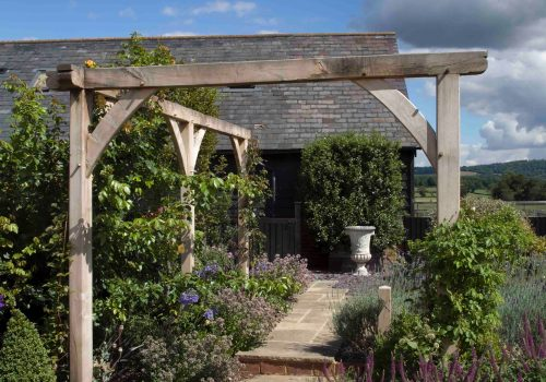 oak frame pergola supply and installation