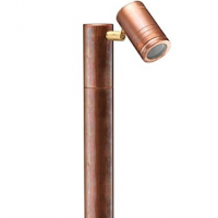 hunza pole light copper garden lighting