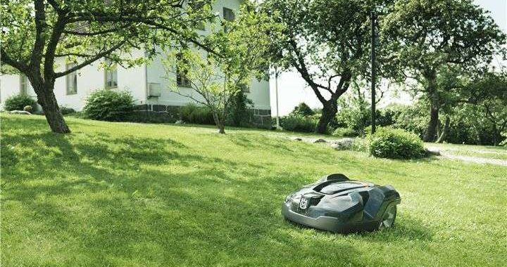 Robotic-Mower-Installation
