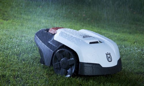 The Robotic Mowers can work through rain or shine