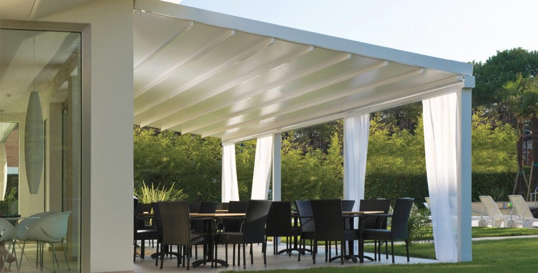 lean to pergola cover for house