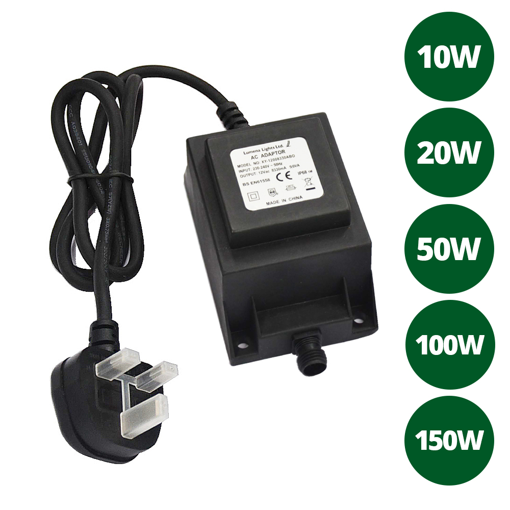 12V Transformers, 12V Cable And Junction Boxes