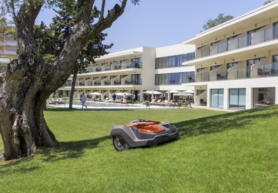 hotel maintenenance robotic mowers for hotels and facilities