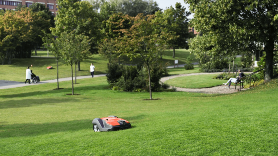 husqvarna automower for businesses and parks