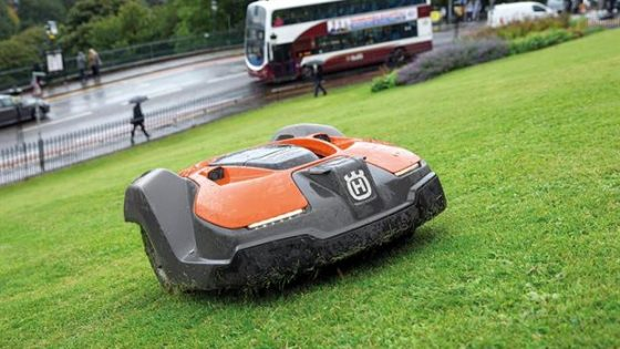 husqvarna automower for public council lawns and garden