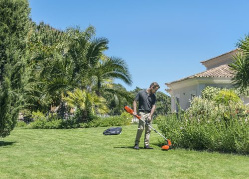 professional robotic automowers for landscapers and garden maintenence companies