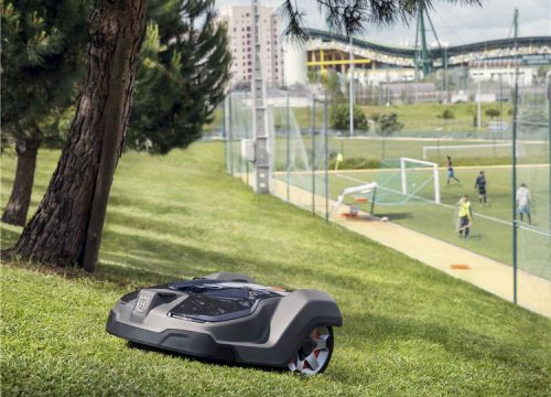 robot lawnmowers public sports pitches and clubs rugby football athletics fields