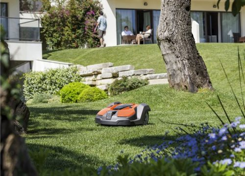 automatic mower for professional use hotel business facility