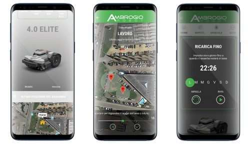 Ambrogio Robot Lawnmower App Connectivity