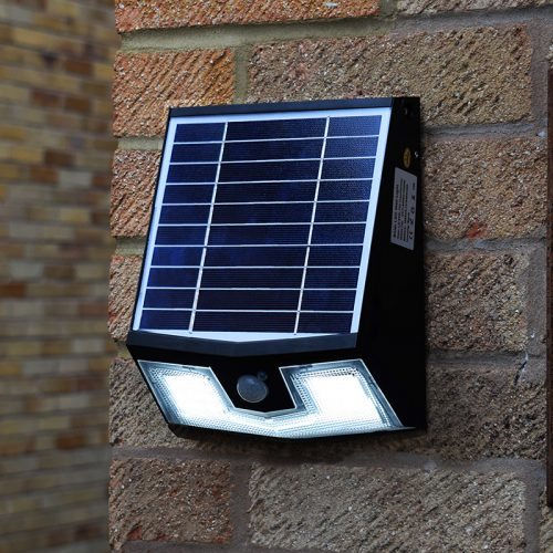 secursol pro solar security light remote control